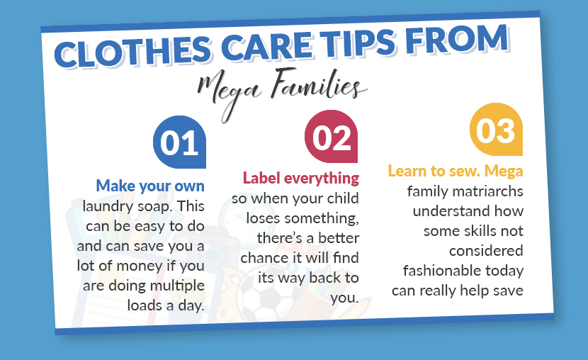 clothes care tips graphic