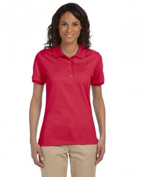 Red | Womens Polo Shirt