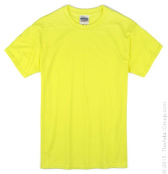 Adult T-Shirt - Safety Green
