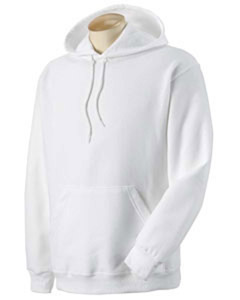 Adult Pullover Hood - White