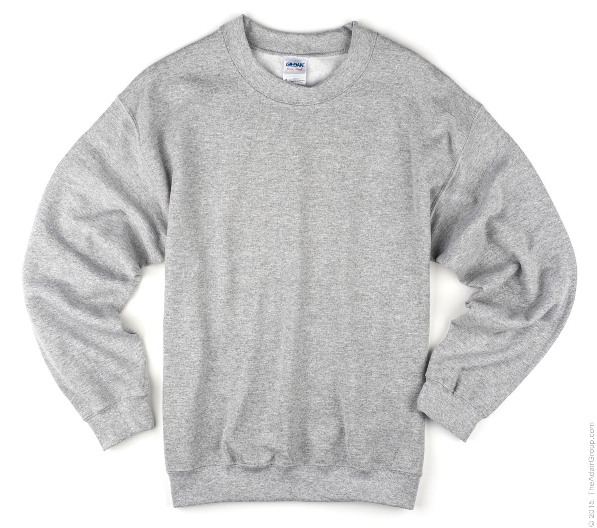 Sport Grey Adult Crewneck Sweatshirt | The Adair Group