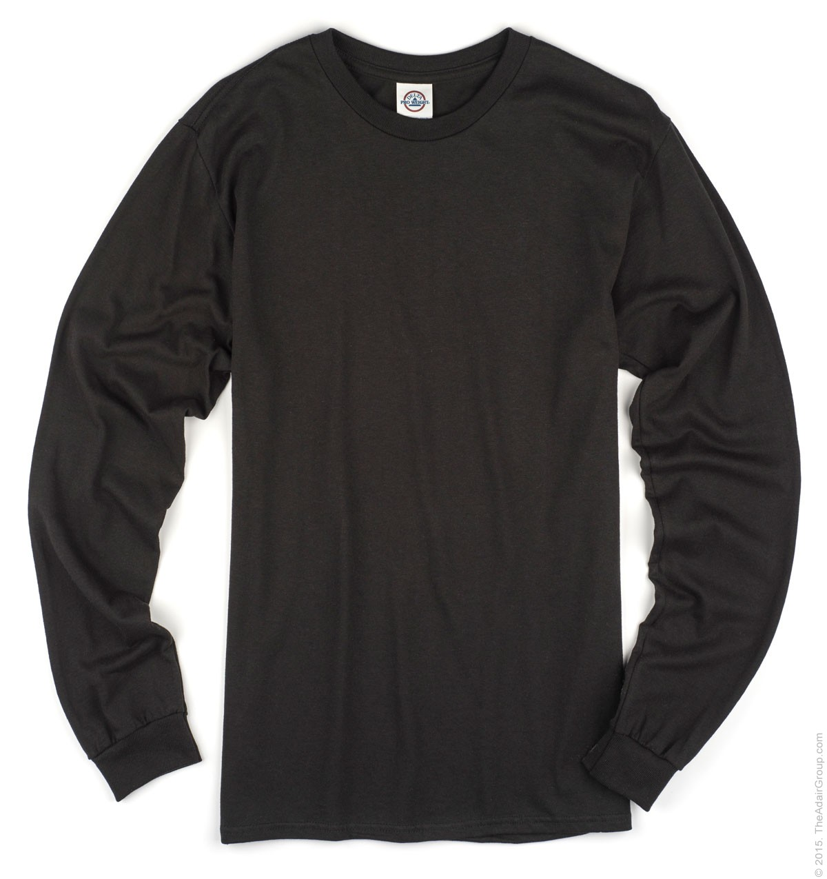 Plain Long Sleeve Black Shirt