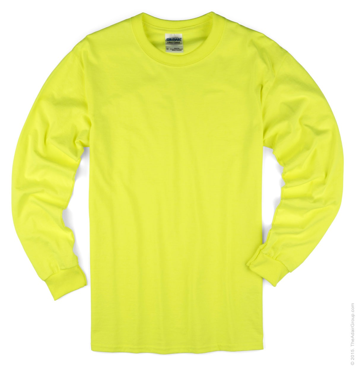 Safety Green Long Sleeve T Adult | The Adair Group
