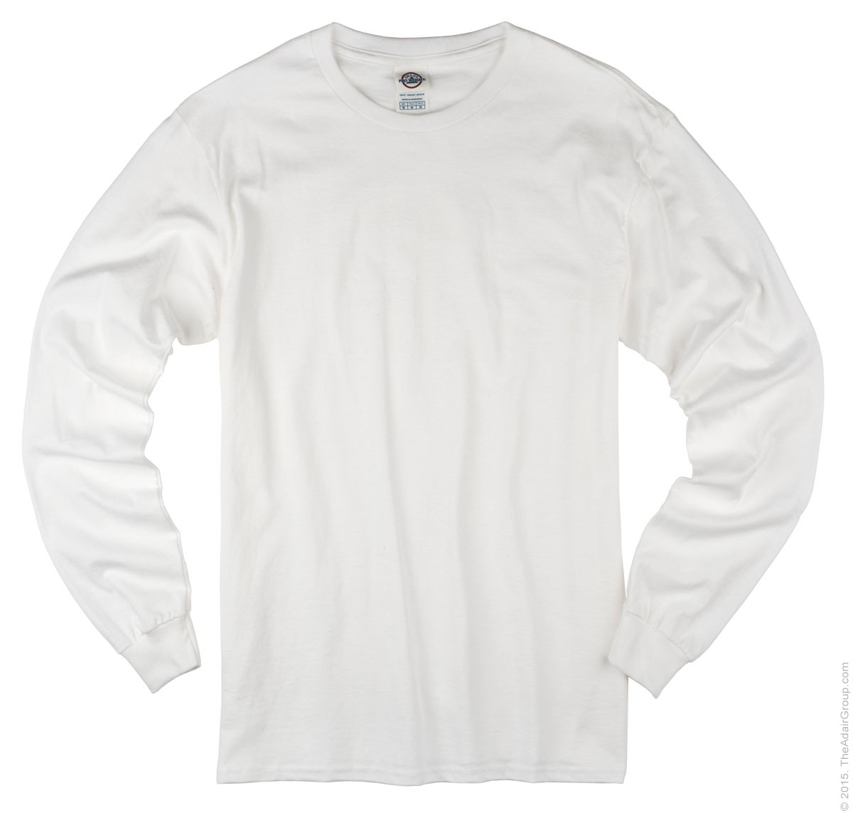 White Long Sleeve T Adult | The Adair Group