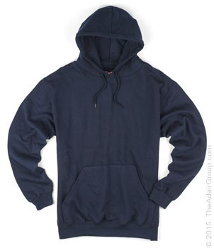 Navy| Adult Pullover Hood
