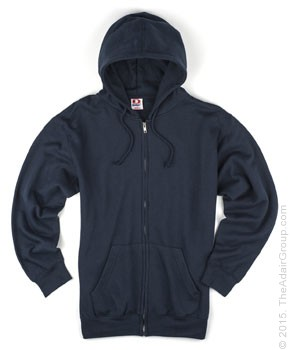 Navy| Adult Zipper Hood