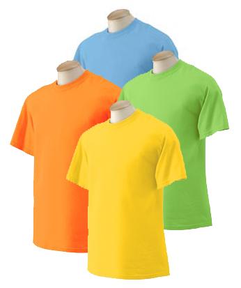 Adult T-Shirt - Bright Colors