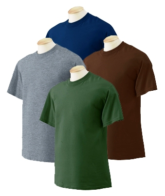 Adult T-Shirt - Dark Colors