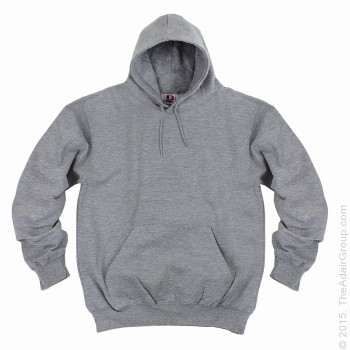 Heather Grey| Adult Pullover Hood