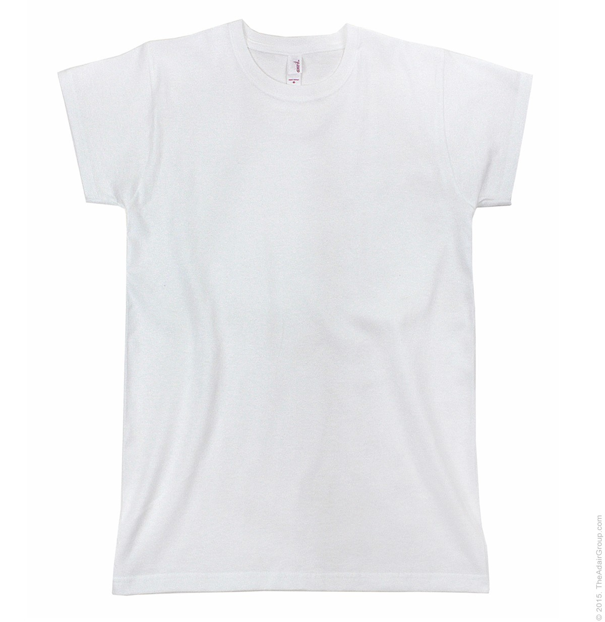 White Basic T-Shirt for Women | The Adair Group