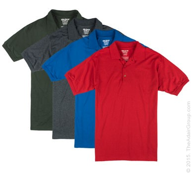 Assorted Colors| Adult Dryblend Polo