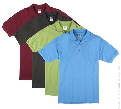 Assorted Colors| Adult Pique Knit Polo