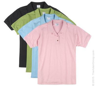 Womens Pique Polo|Assorted Colors