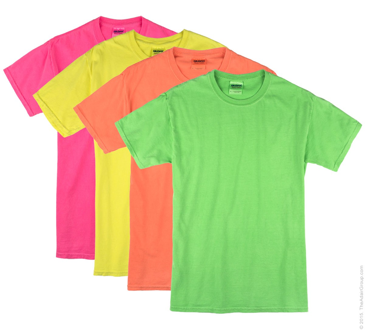 Neon t shirts greek t shirts for Bulk neon t shirts