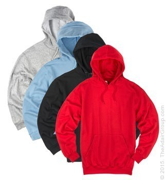 Assorted Colors| Adult Pullover Hood
