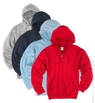 Assorted Colors| Adult Zipper Hood