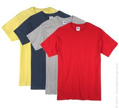 Assorted Colors| Adult T-Shirt