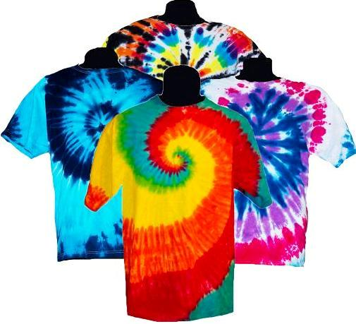 Adult Tie Dye T-Shirt (Assorted Colors)