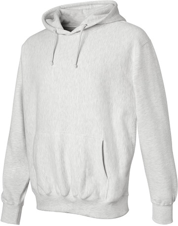 Adult Pullover Hood - Ash Grey