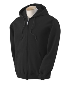 Adult Zipper Hood - Black