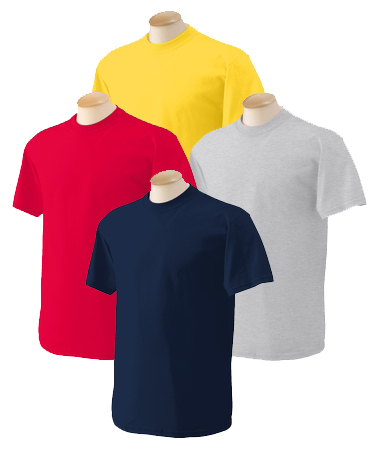 Adult T-Shirt - Assorted Colors