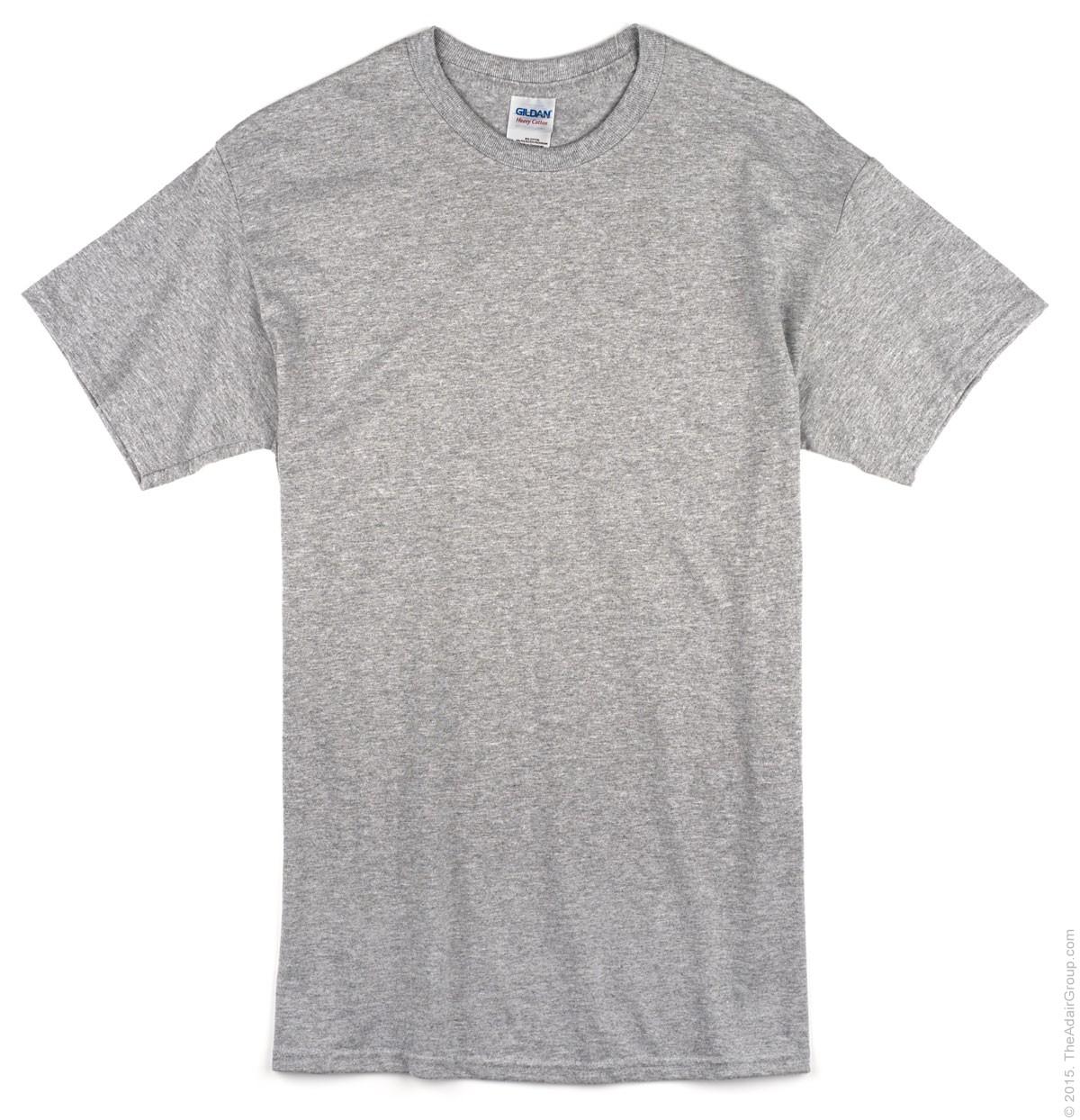 T shirt white blank - Sport Grey Adult T Shirt