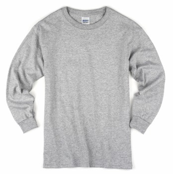 Sport Grey| Adult Long Sleeve T