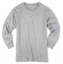 grey long shirt