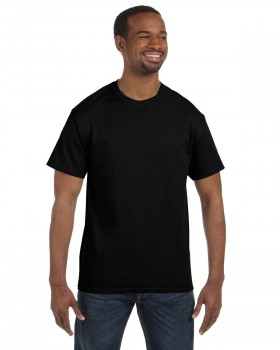 Black | Hanes Adult T-Shirt