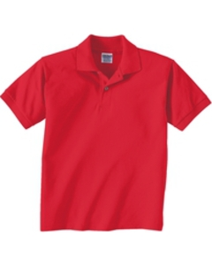 Kids Polo Shirt - Red
