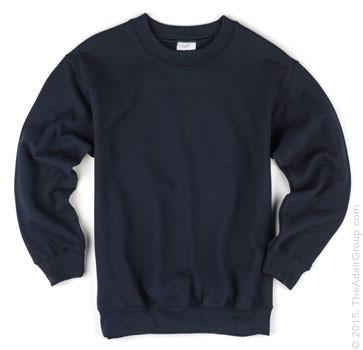 Navy Kids Crewneck Sweatshirts The Adair Group