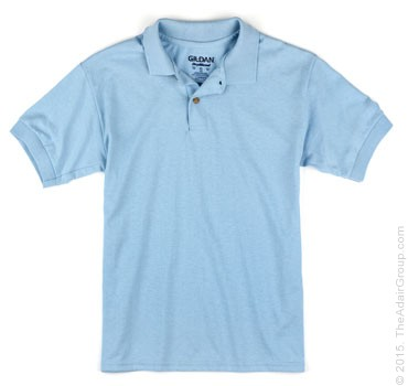 Light Blue| Kids Polo Shirt