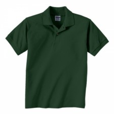 Wholesale polo shirts for kids from the adair group for Forest green polo shirts