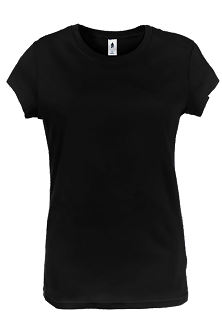 Black plain t shirts from quality brands Womens black tee shirt