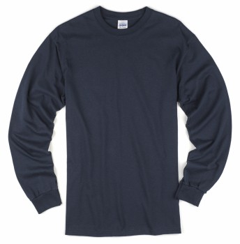 Navy| Adult Long Sleeve T