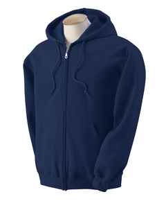 Adult Zipper Hood - Navy