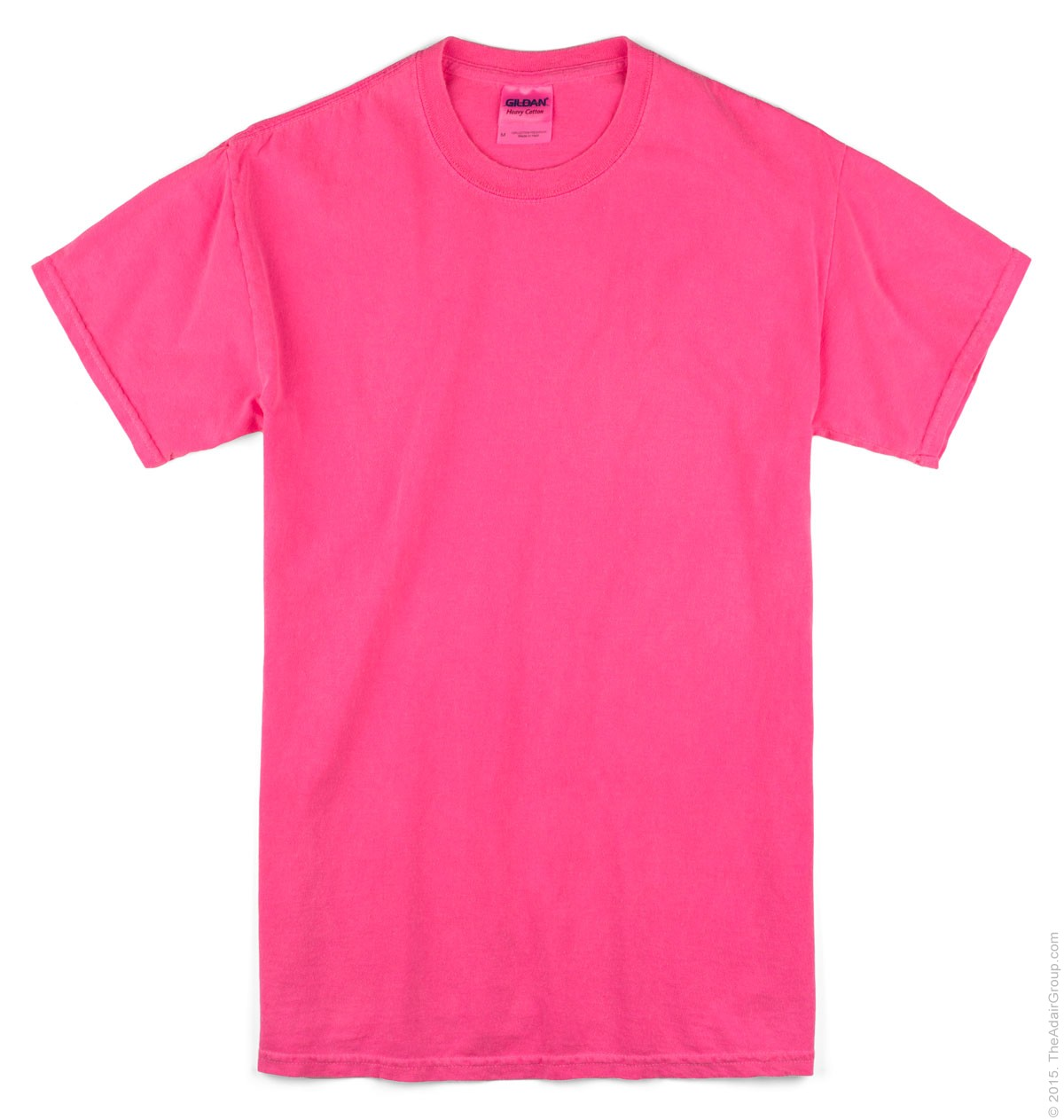 bright pink t shirt is shirt