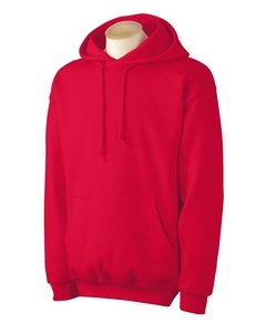 Adult Pullover Hood - Red