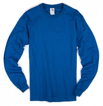 Royal| Adult Long Sleeve T