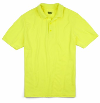 Safety Green| Adult Dryblend Polo