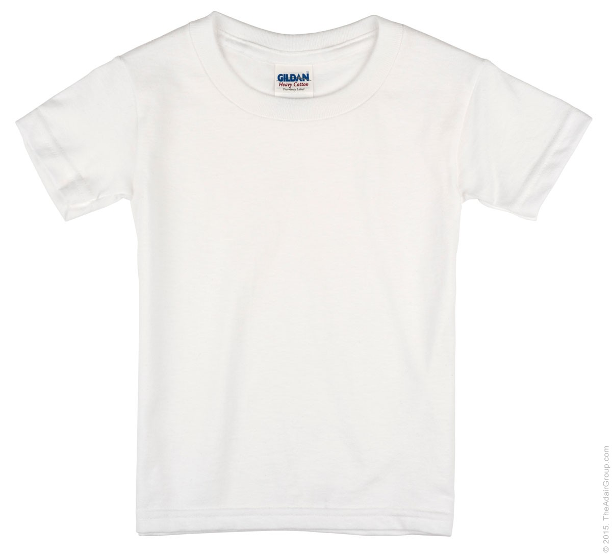 White T-Shirt for Toddlers | The Adair Group