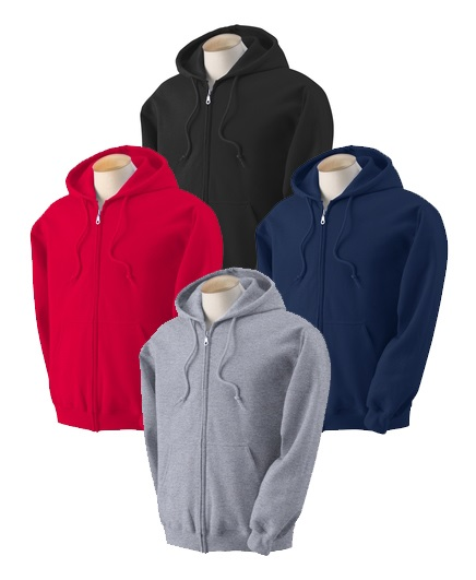 Adult Zipper Hood - Assorted Colors