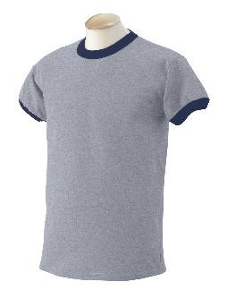 Ringer T-Shirt (Sport Grey/Navy)