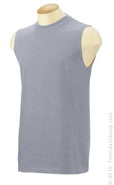 Heather Grey| Sleeveless T-Shirt