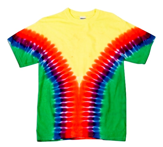 Rainbow Vee - Adult T-Shirt
