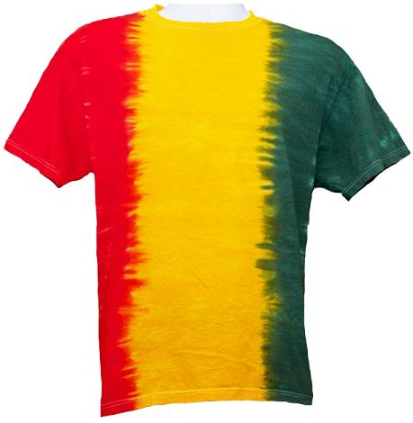 Rasta Fade - Adult T-Shirt