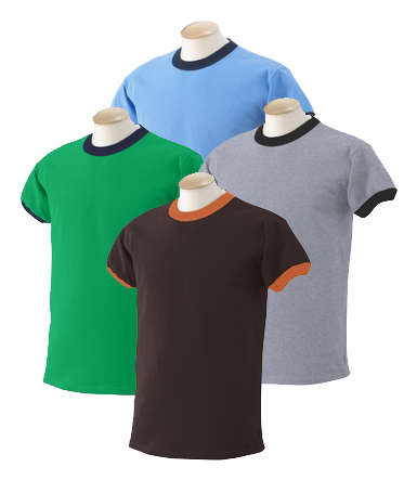 Ringer T-Shirt (Assorted Colors)
