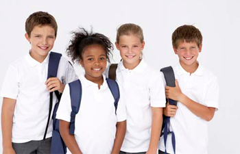 Kids Polos Shirts For School Uniforms The Adair Group
