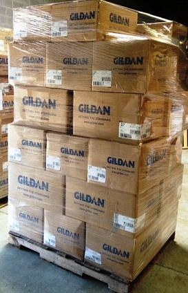 How many bulk wholesale t-shirts fit on a pallet   7adbd106e05