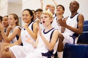 matching basketball team